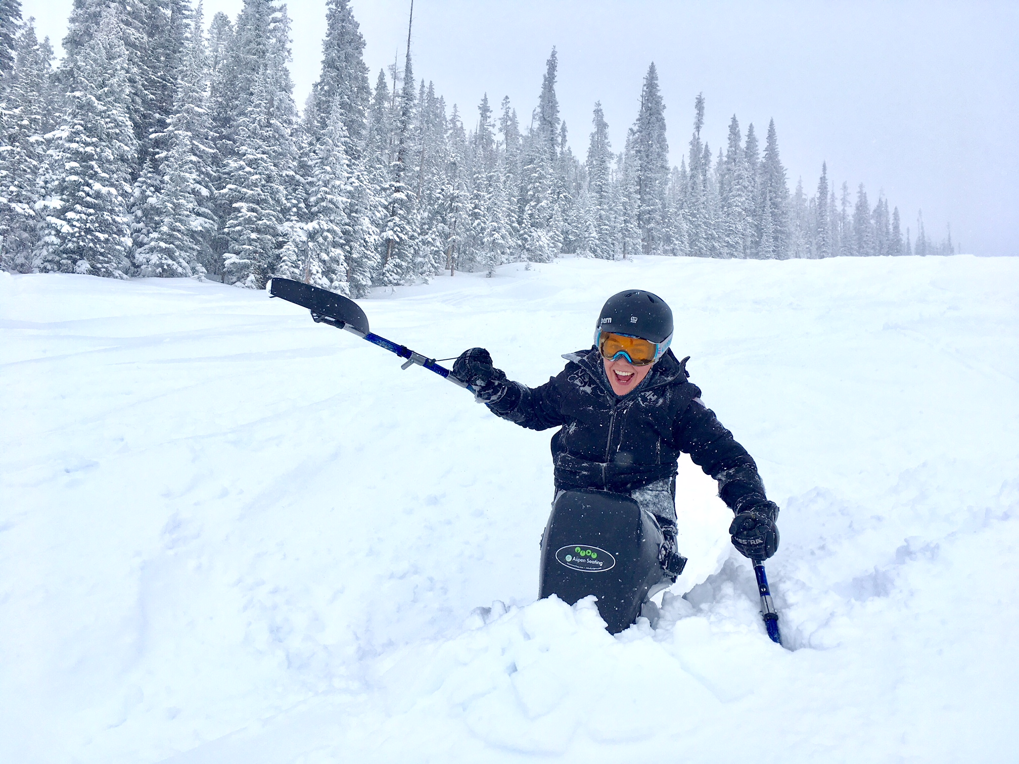"What a way to end the season - 12"" of fresh Colorado pow!"