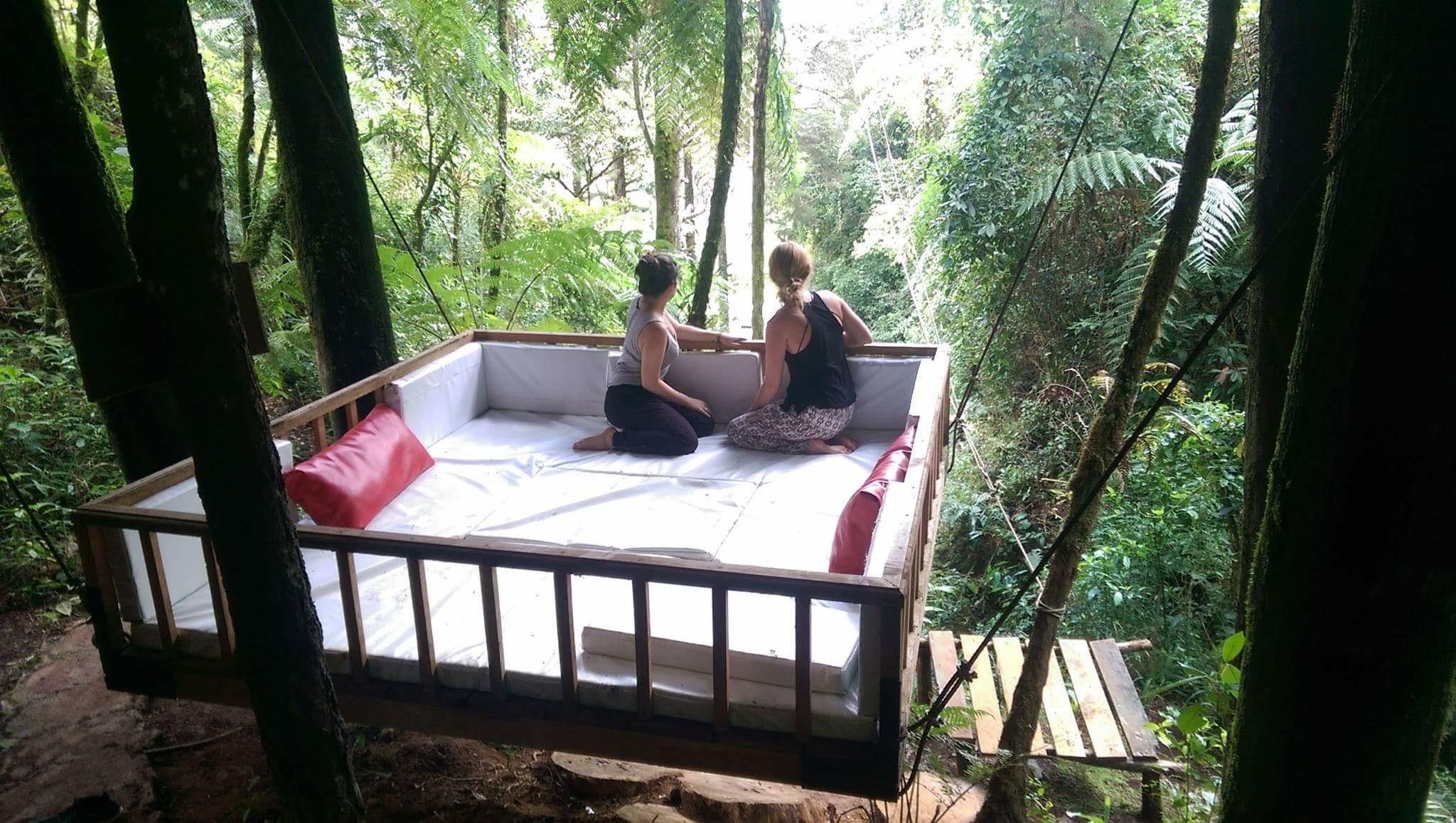 Hannah and Raquel In Guatemala.