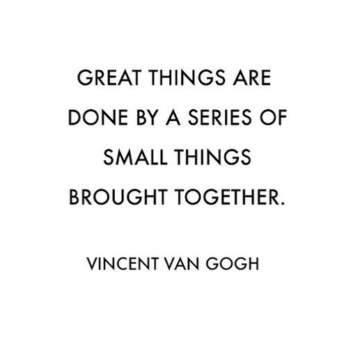 Every language journey is a series of small, brave steps. Thank you Van Gogh for reminding us! 🙌 #mondaymotivation #vangogh #languagejourney #languagelearner #travel