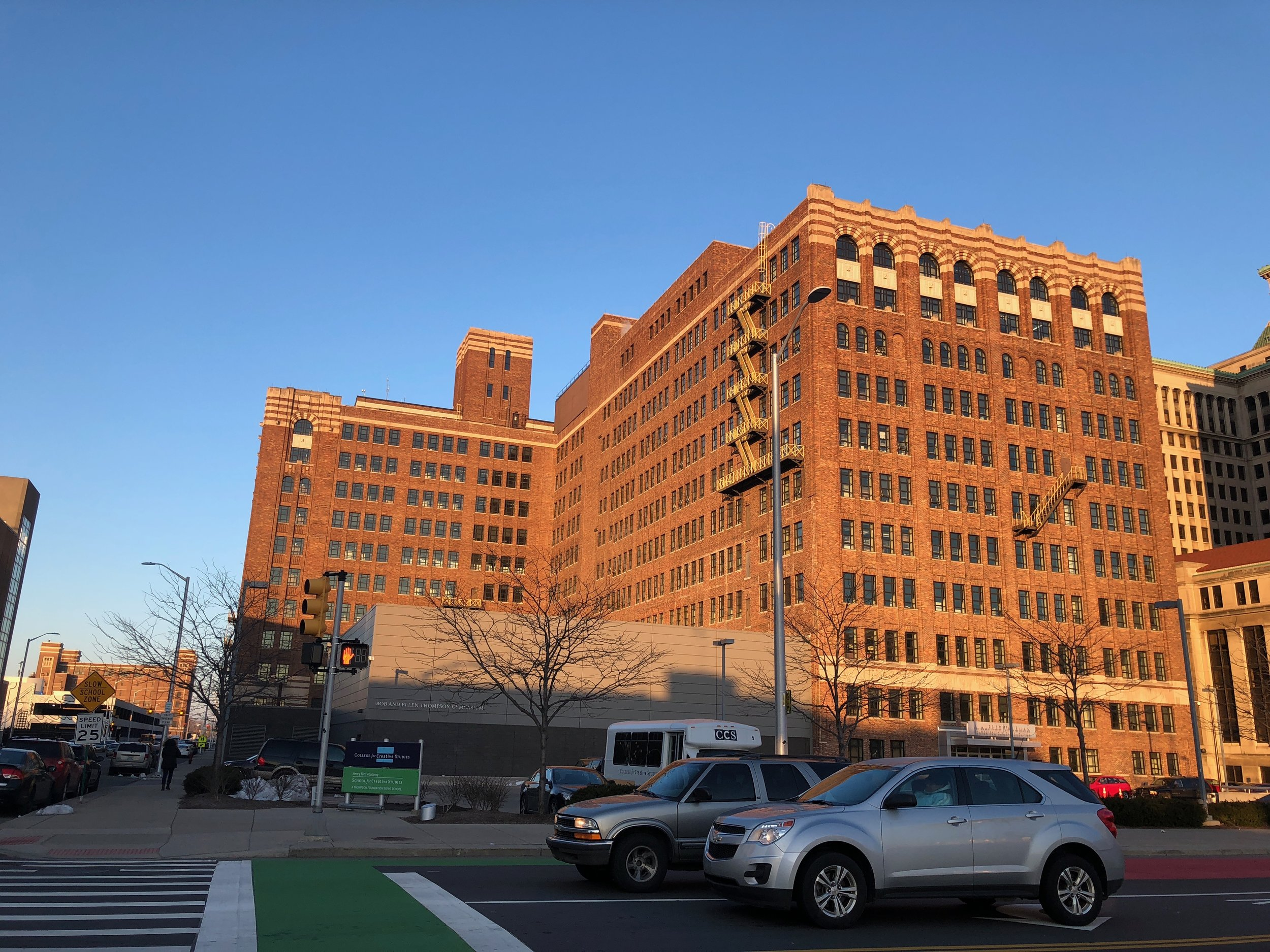 The SHinola Headquarters in Detroit, MI.