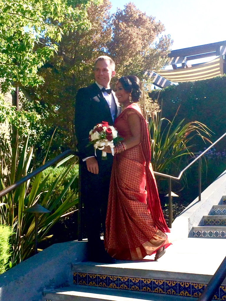 Our son Matt married Gowri in a fusion wedding (Hindu officiant) and we are overjoyed at meeting our new family from Sri Lanka!