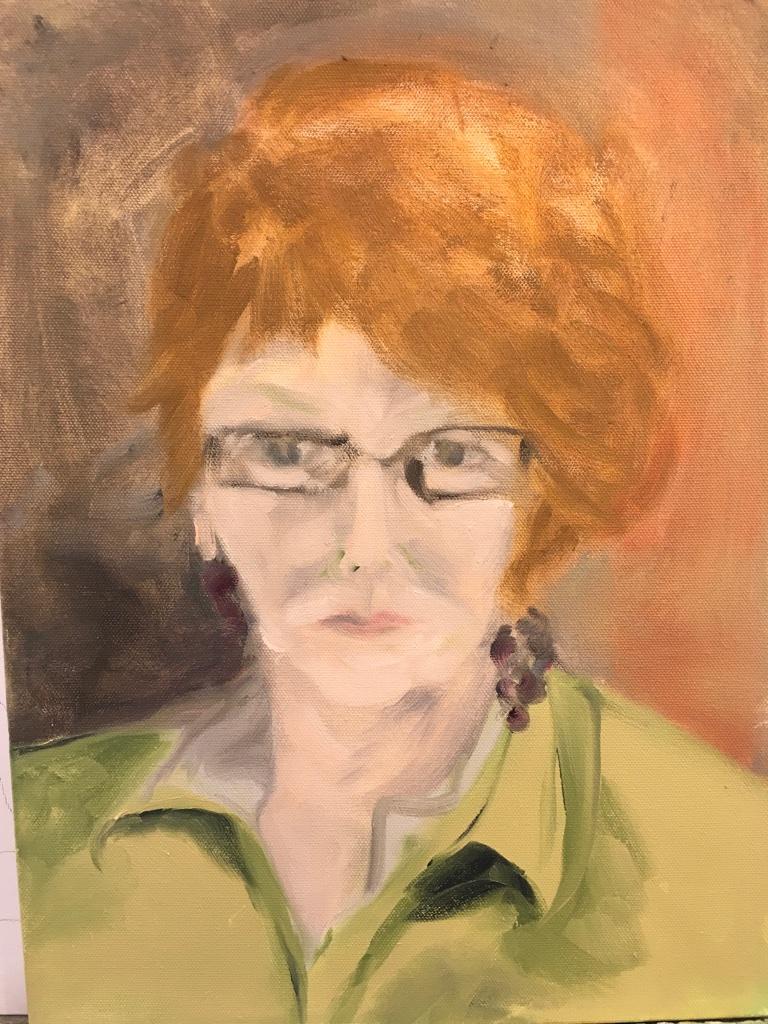 Self-portrait BEFORE Stanka....