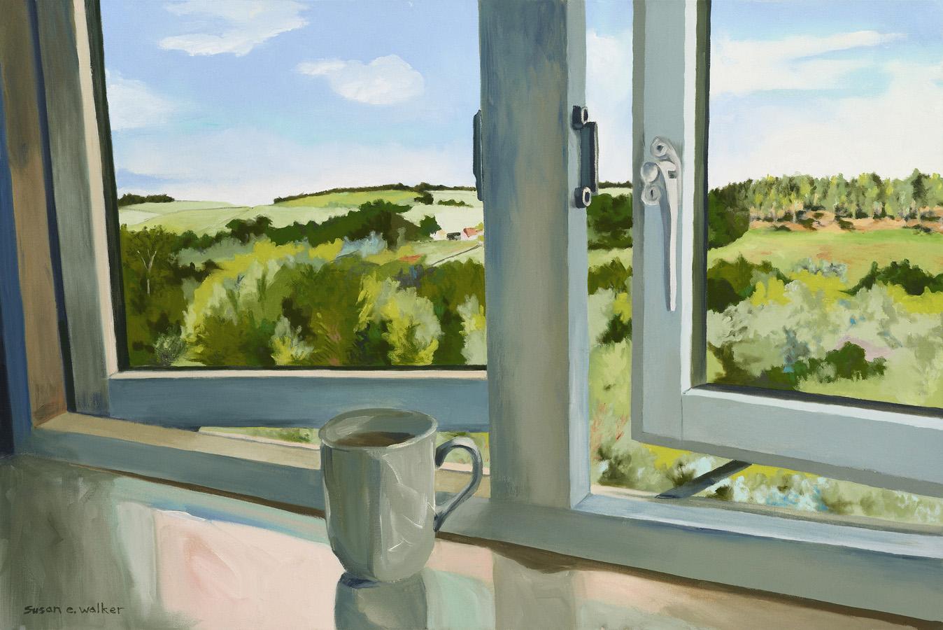 Framing A Country Morning