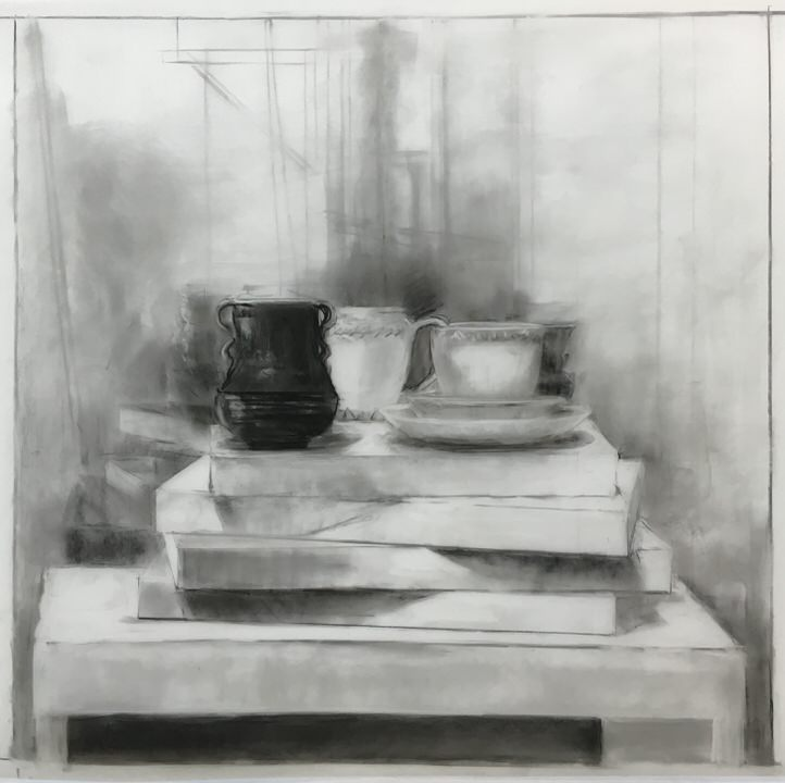 Study for Prussian Blue Vessel