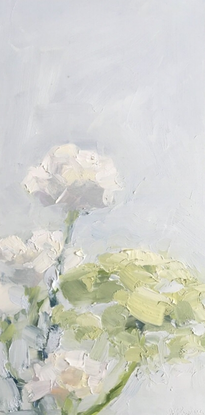 White Carnations-Queen Anne's Lace #2