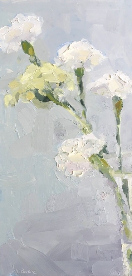 White Carnations-Queen Anne's Lace #1