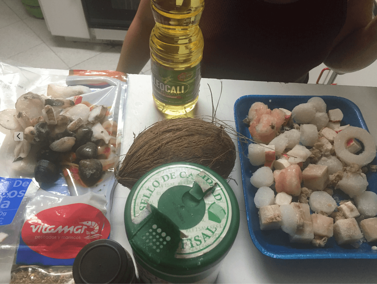 Spices and Seafood