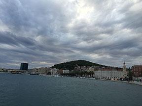 Coastline of Split