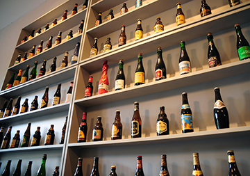 An incredible selection of beers!