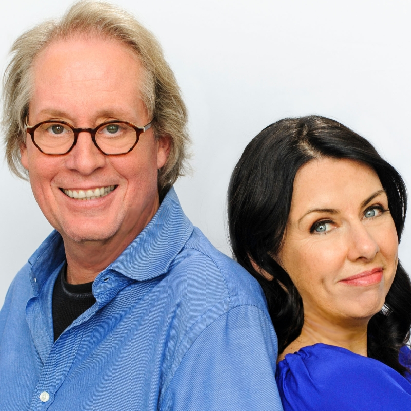 A picture of David and Veronica