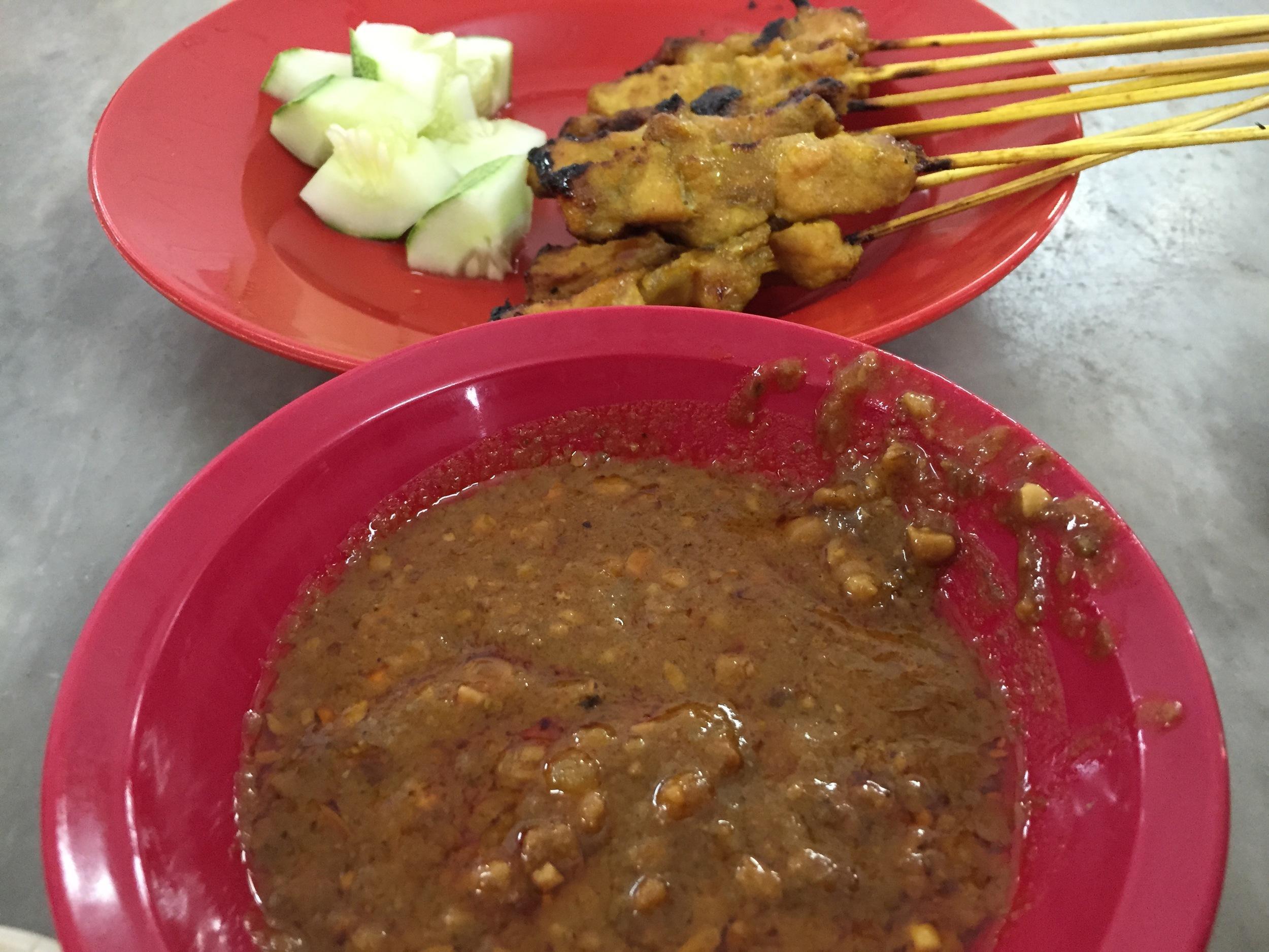 Pork Satay- Super tasty