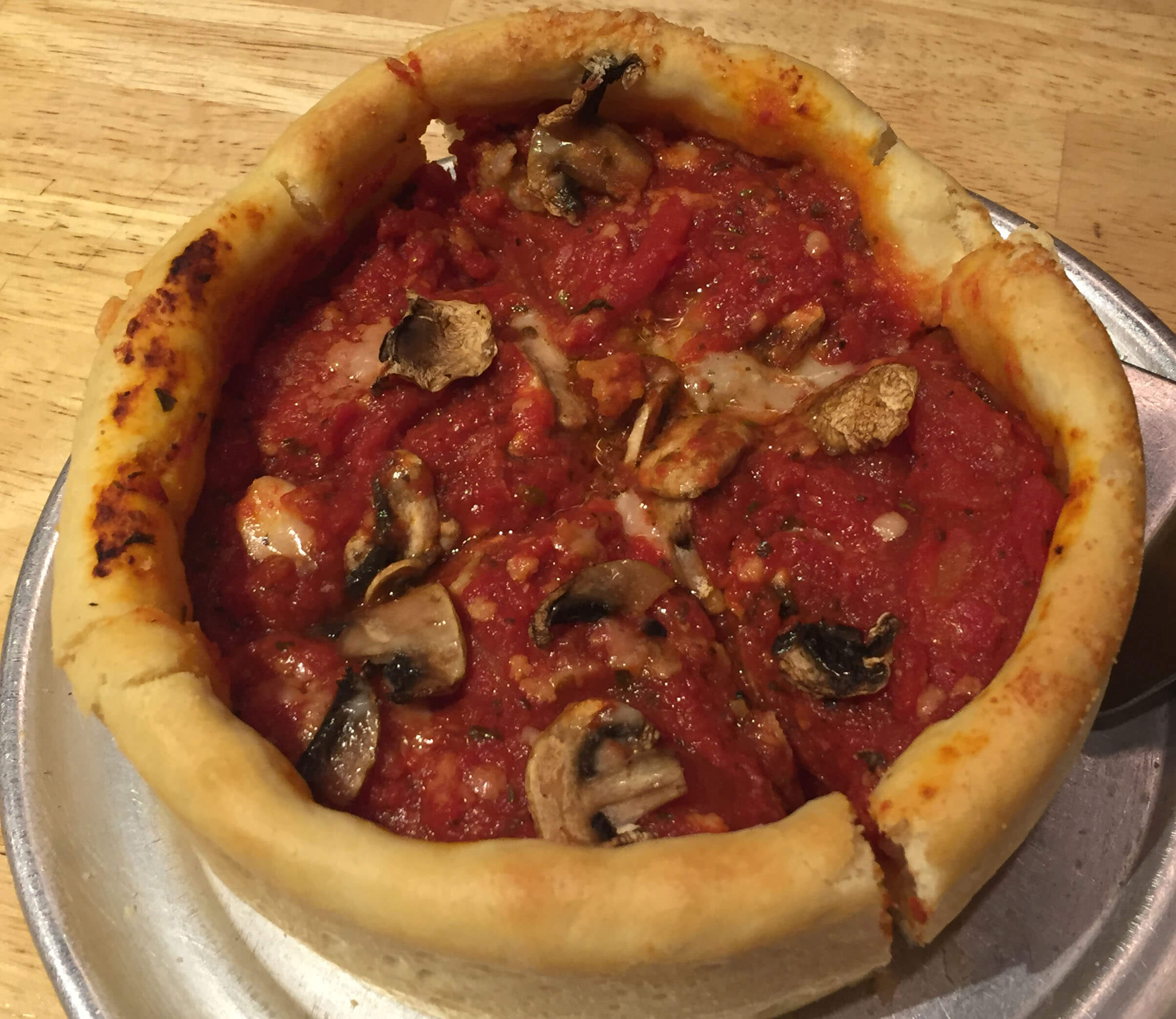 Chicago Style Pizza in Tokyo!