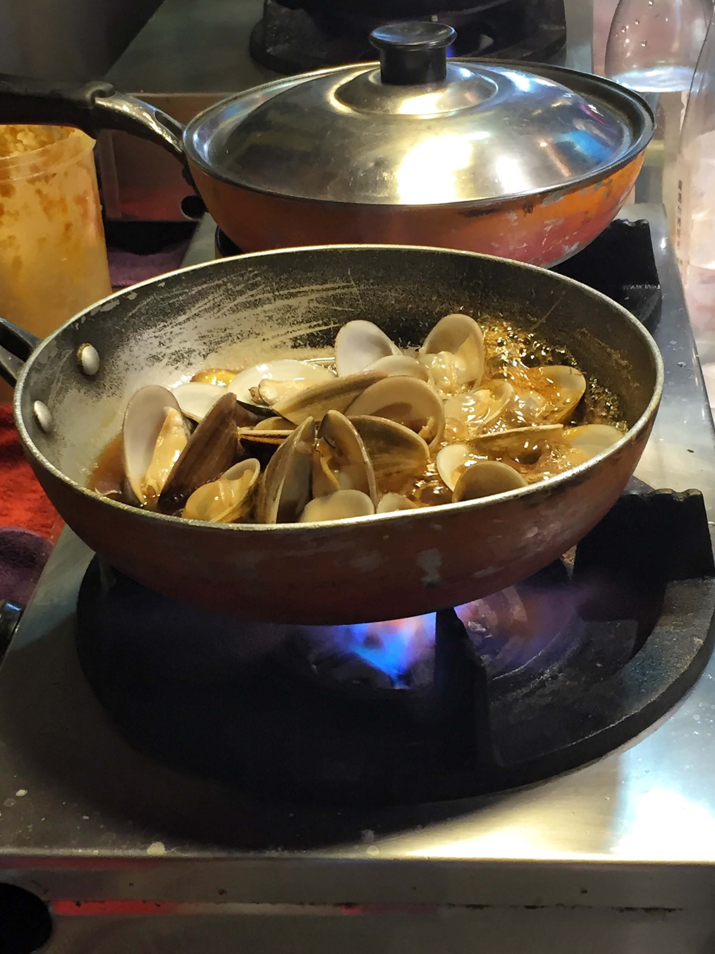 Clams- Taipei Shilin Night Market Food