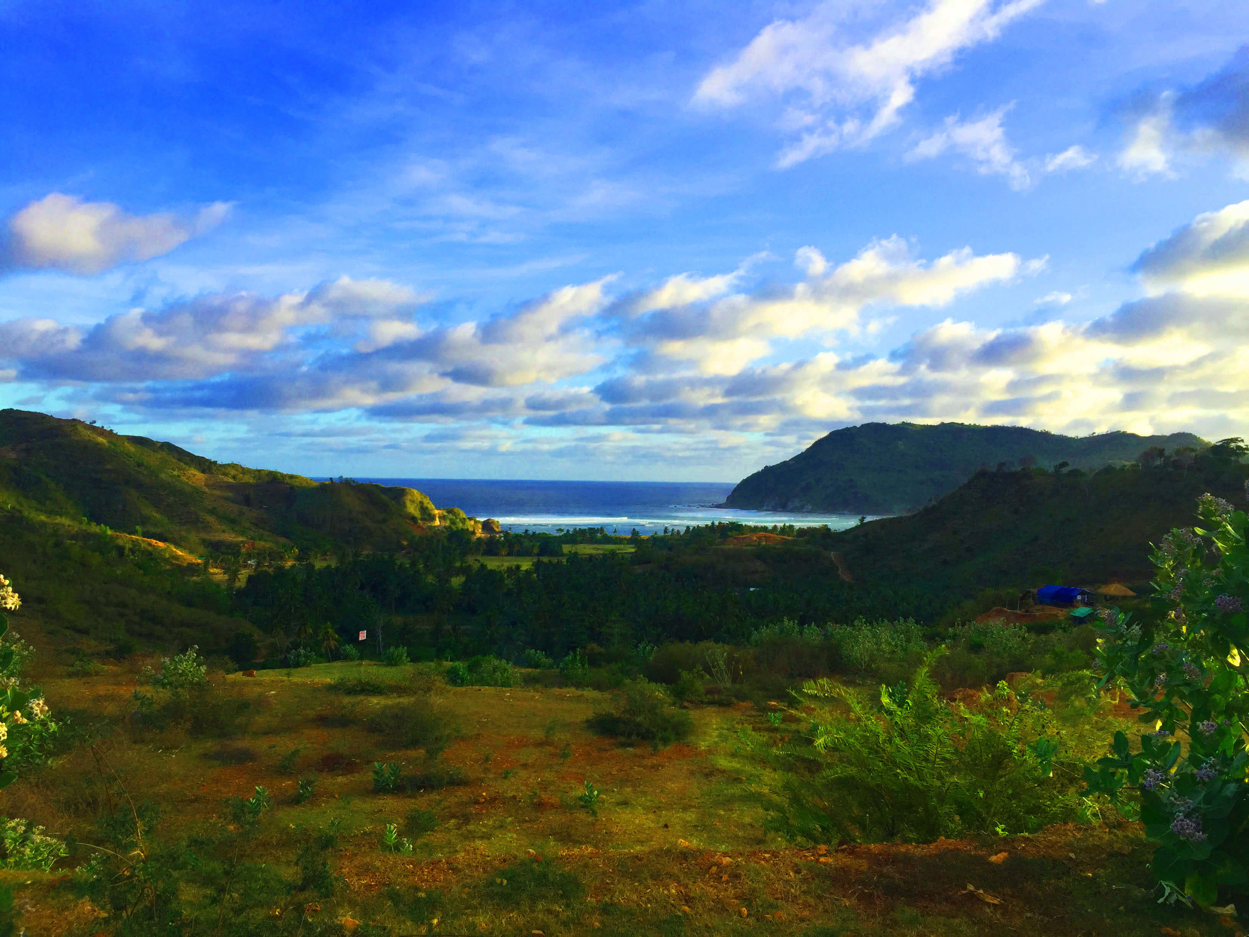Valley shot- What a beautiful day in Lombok