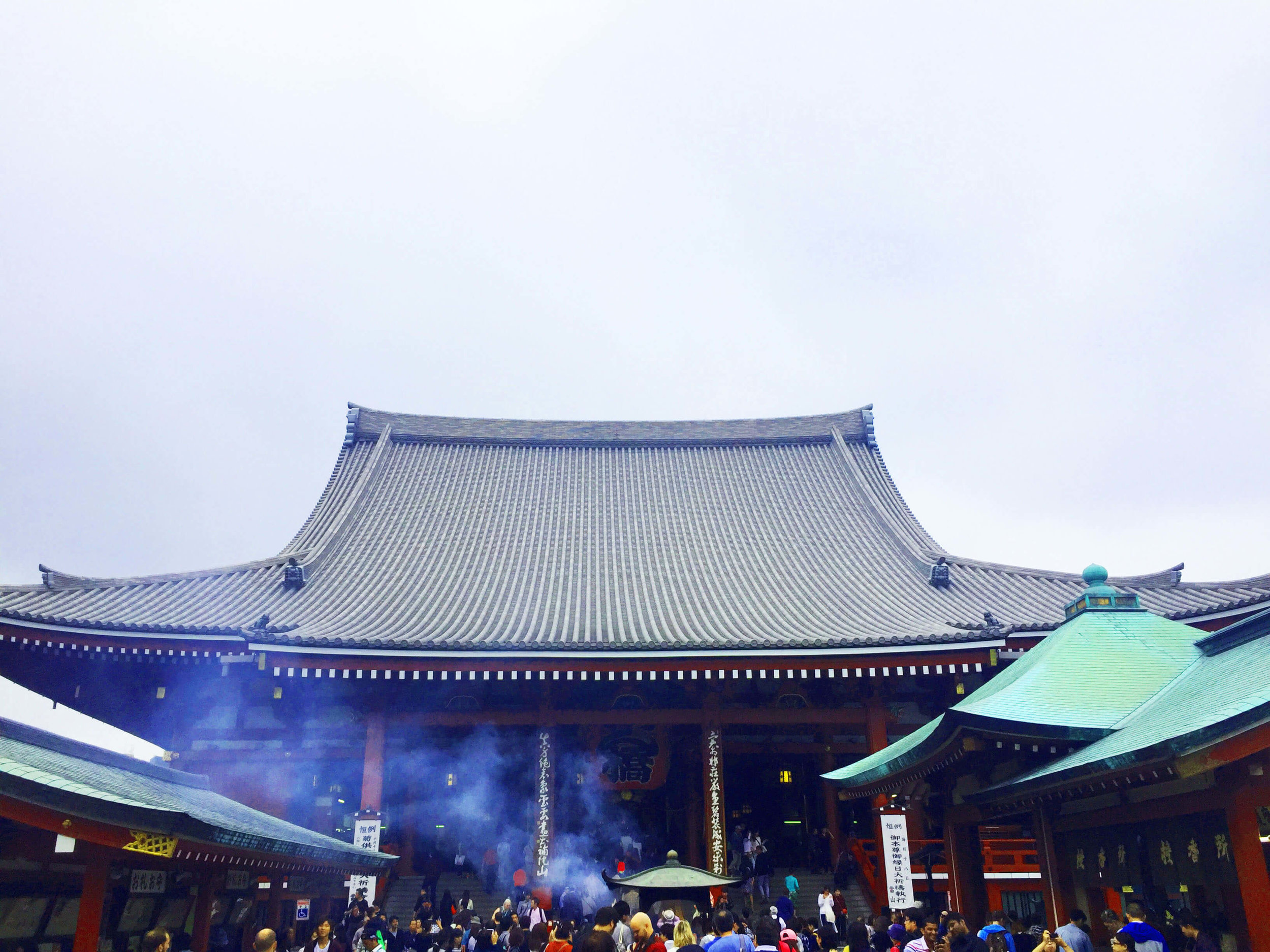 Walking to Sensoji Temple was well worth it!