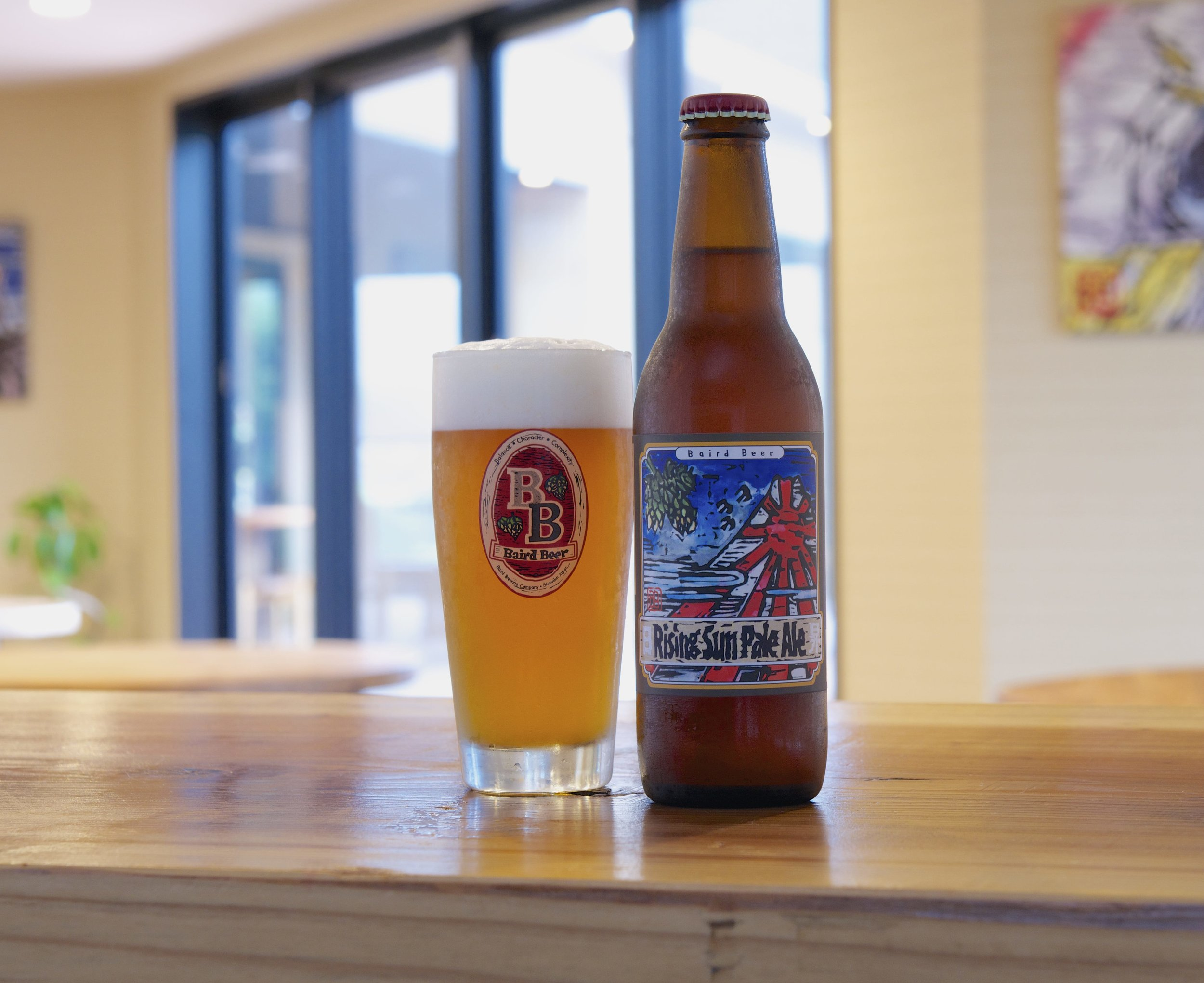 Rising Sun Pale Ale- One of my personal favorites from Baird Brewery