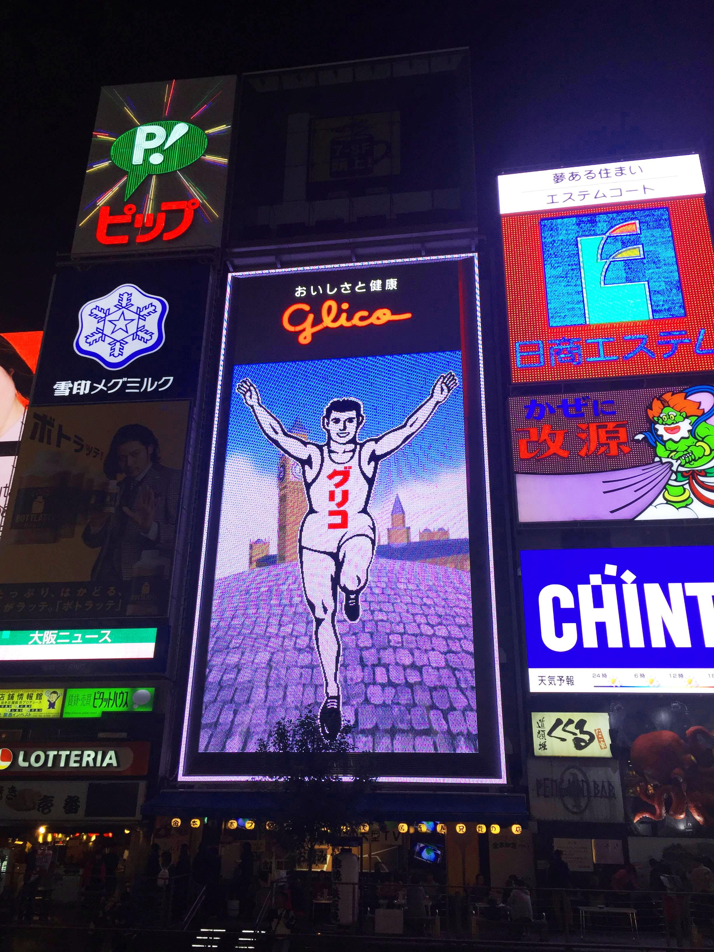 Dotonbori Glico in Osaka