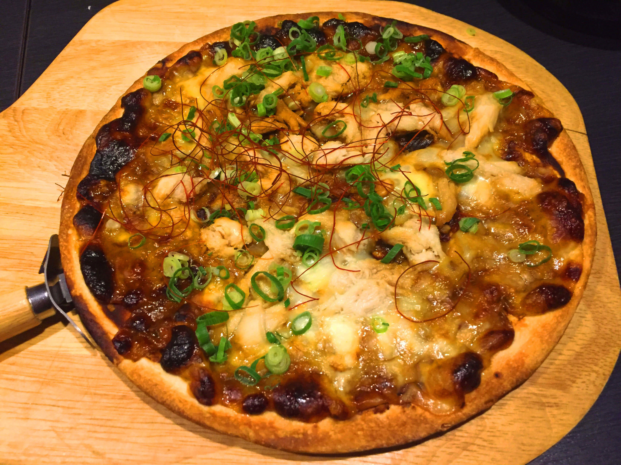 The highlight of them all- miso pizza