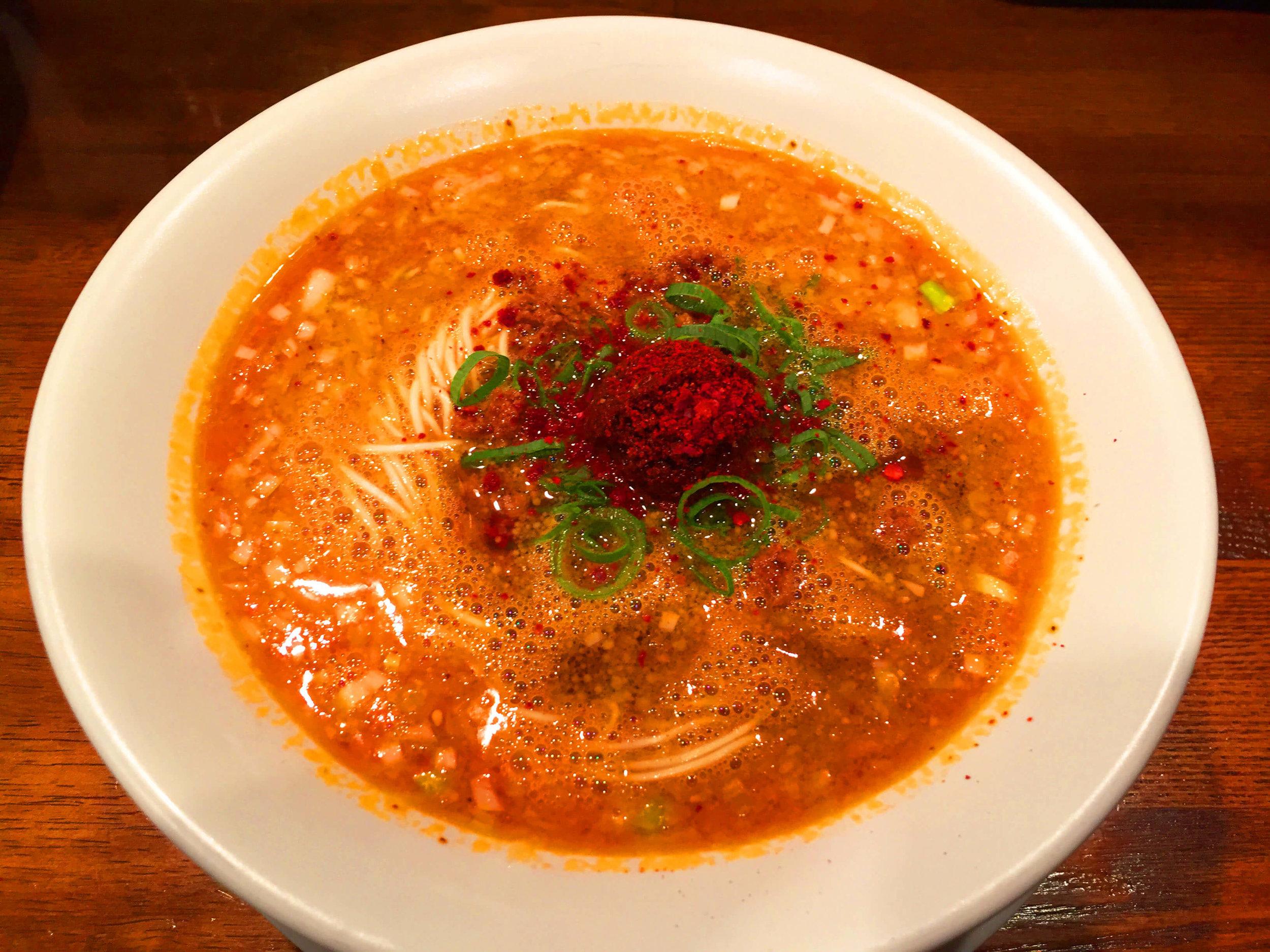Michelin Star Spicy Ramen- Just delicious!