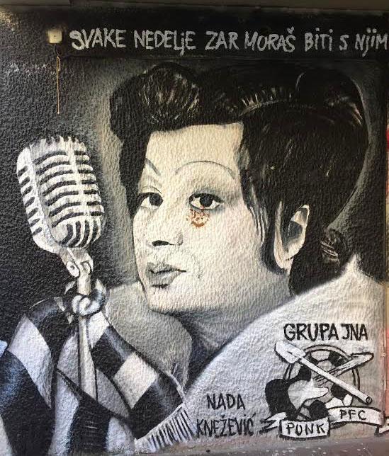 Street Art in Skadarlija