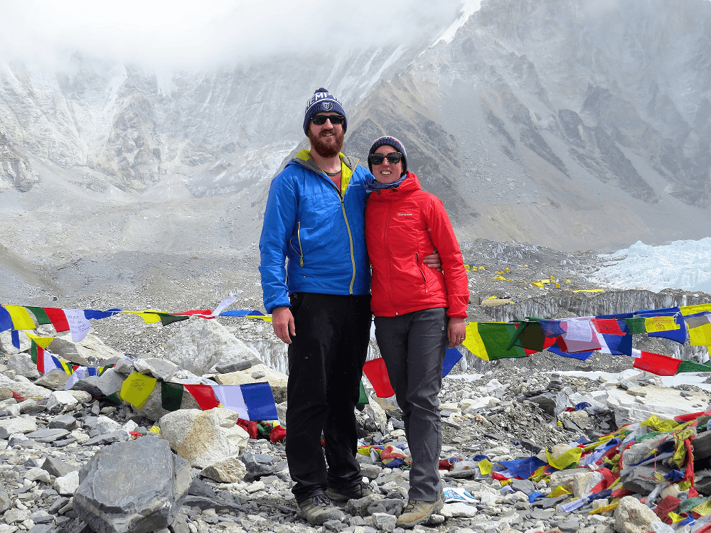 On Everest Base Camp