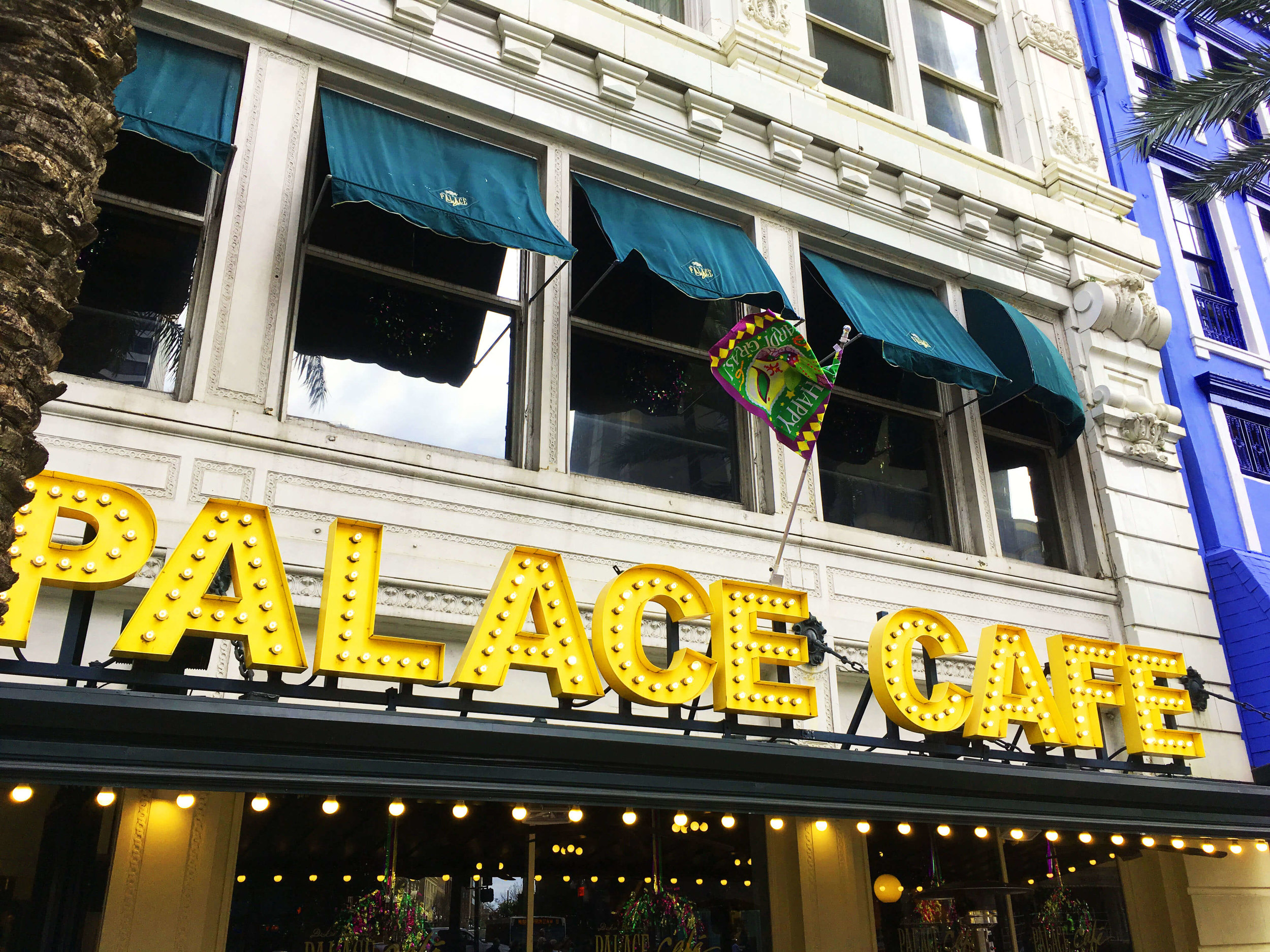 Palace Cafe Visit for Some Tasty Creole Cooking!