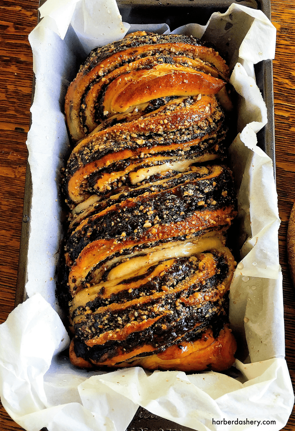 Chocolate Krantz Cake