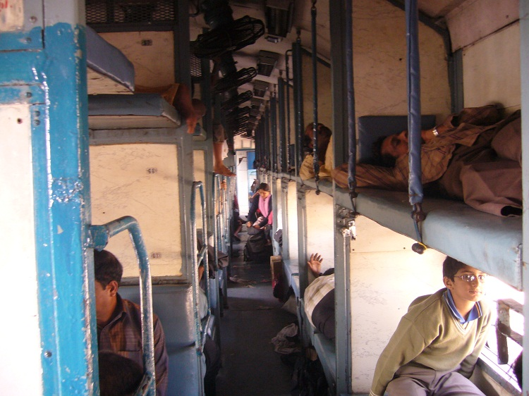 Sleeper Coach in Indian Trains