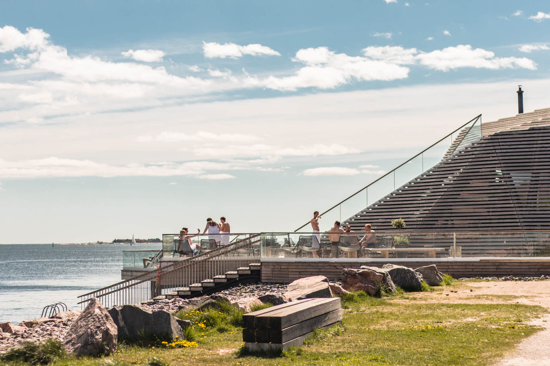 Löyly is THE place for locals and visitors to enjoy sauna with a view!
