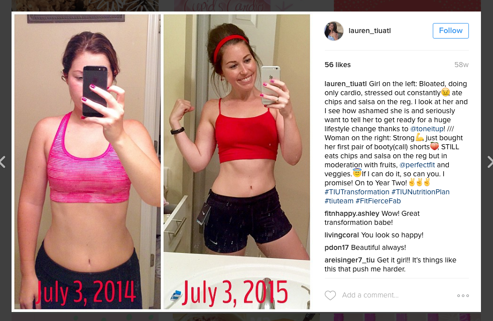Wow - One year into my journey and right after my first FORME class! This was so not about the appearance (even though that's an amazing perk!)... I was so happy to be strong and confident.
