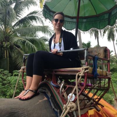 Grit Glam Grace - Ride an Elephant