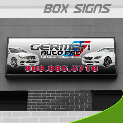 Box SIgn -