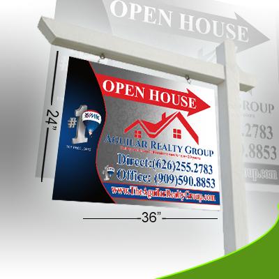 Real Estate Sign -