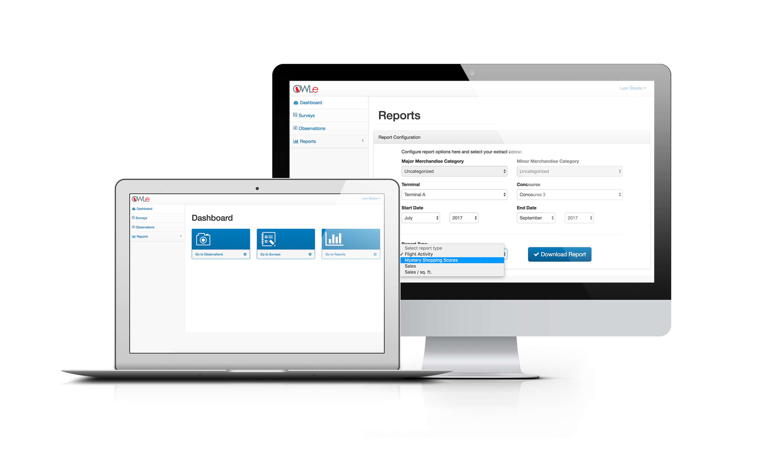 Reporting - Cloud-based access to your data and our data analytics team