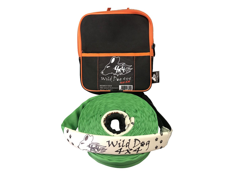 Wild Dog 4x4 Windenseil-Verlängerungsgurt 10 m 02