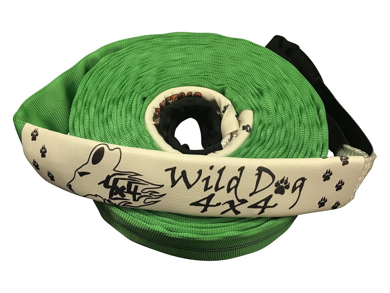 Wild Dog 4x4 Windenseil-Verlängerungsgurt 10 m 01