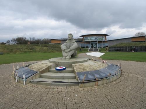 The Battle of Britain Memorial at Capel le Ferne