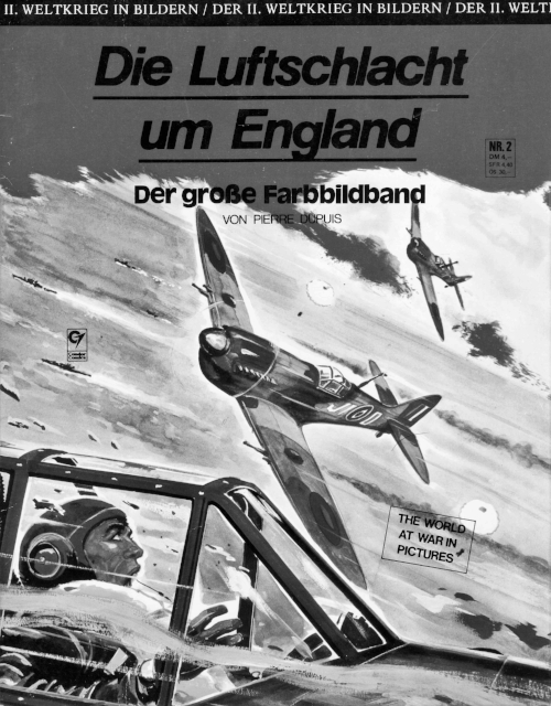 A German comic-style book about the Battle, published in 1976.