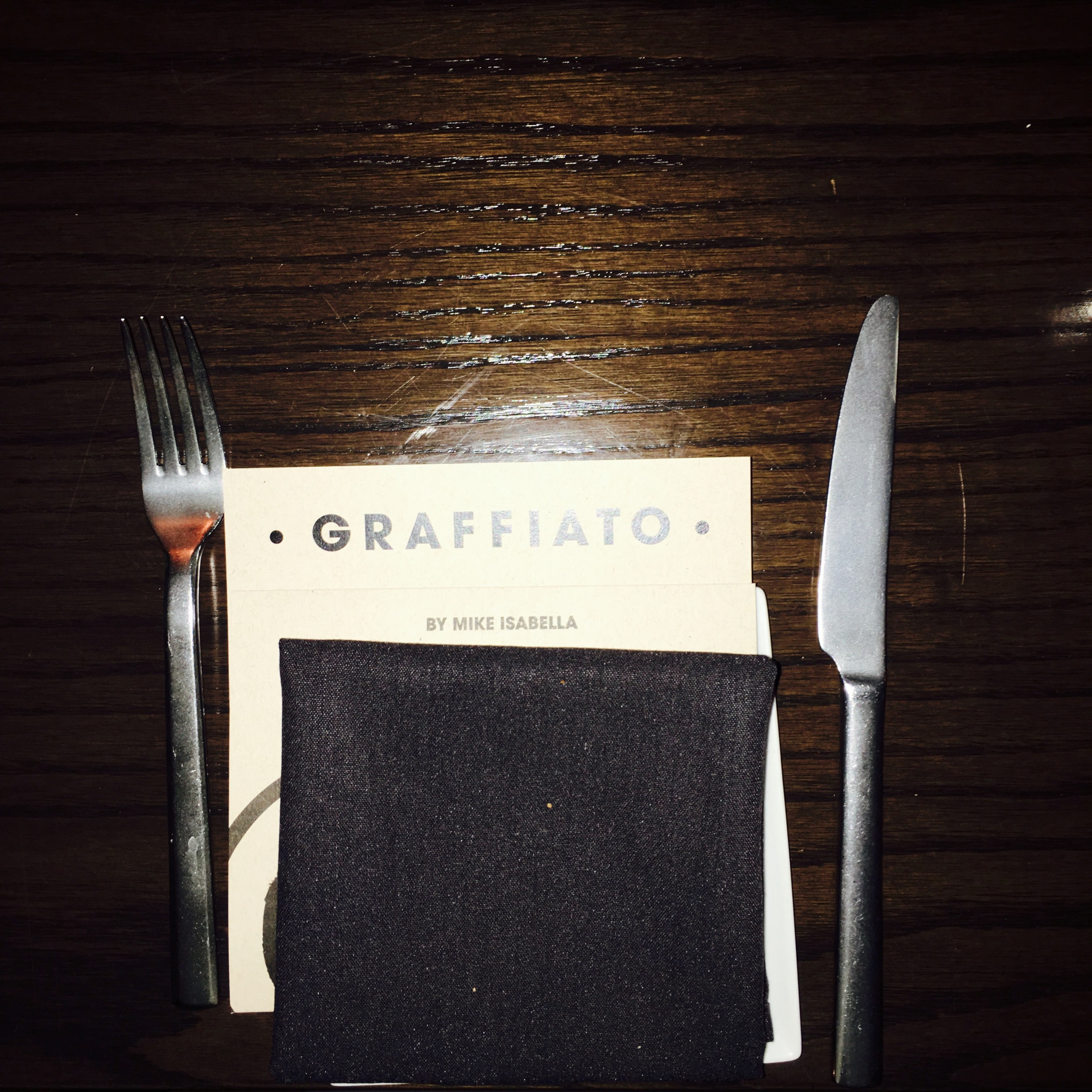 Saturday evening we dined at Mike Isabella's  Graffiato.  We were eating well.
