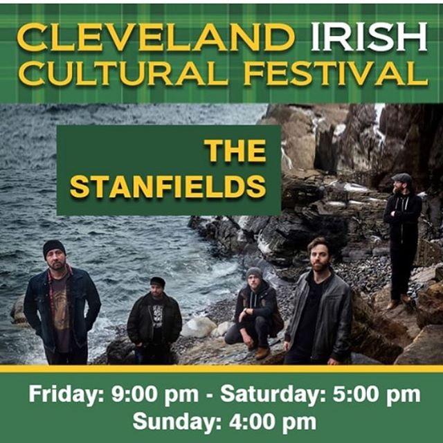 @thestanfields perform at @clevelandirishfest all weekend!