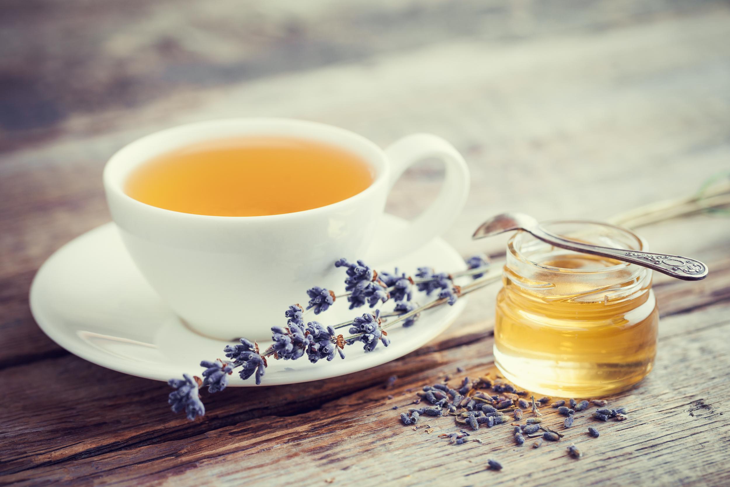 lavender honey tea