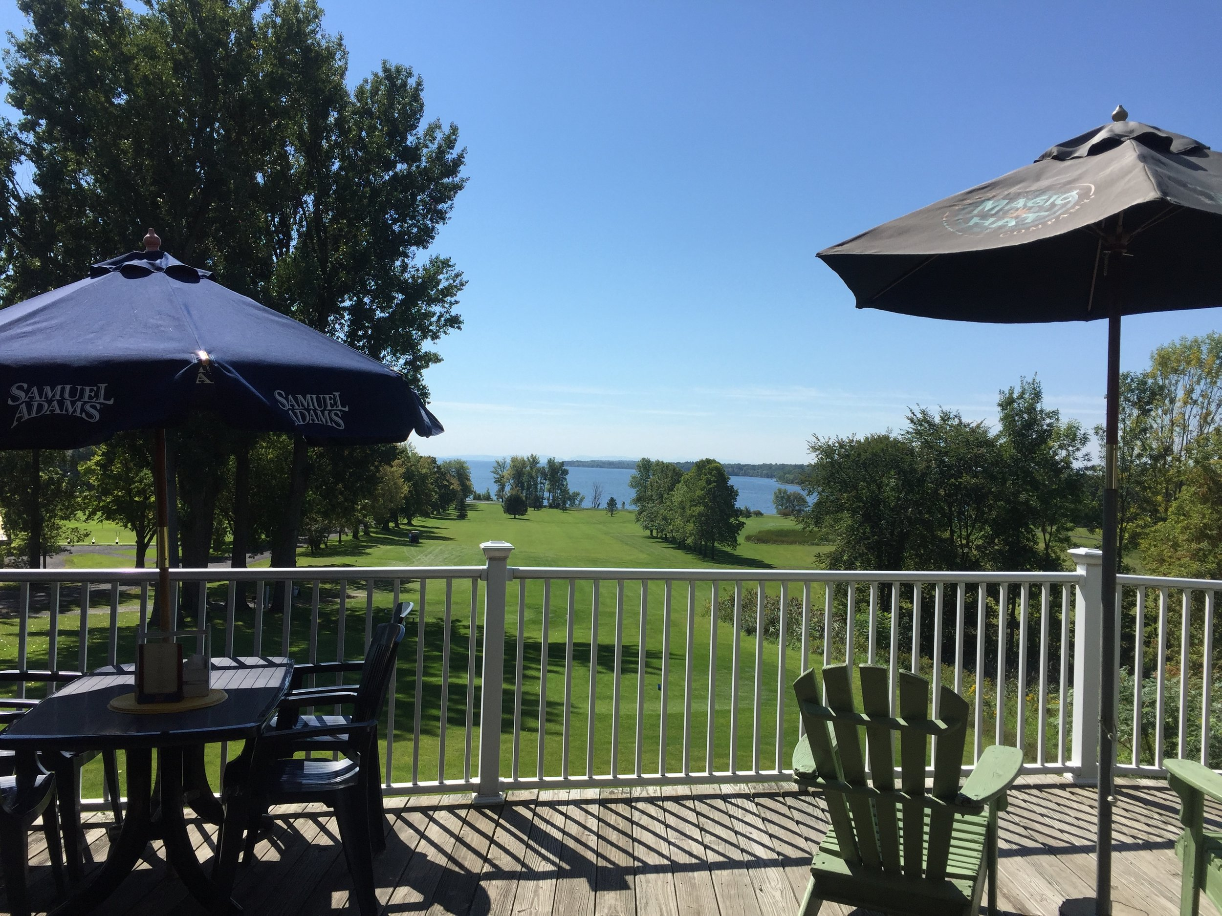 Deck at Alburgh Country Club