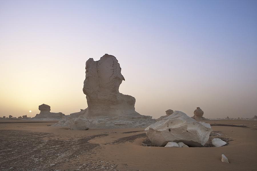 White Desert Formations
