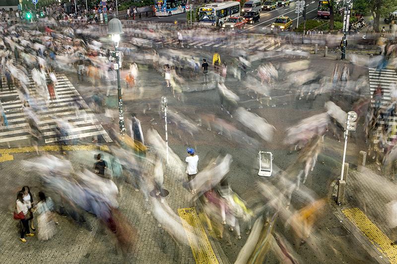 Shinjuku Speed Blur