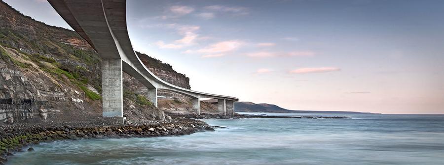 Under The Sea Cliff Bridge