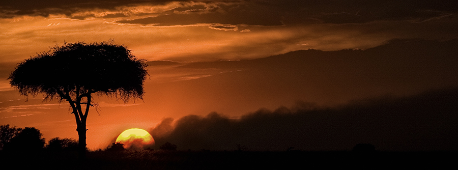 Burning Mara Sunset
