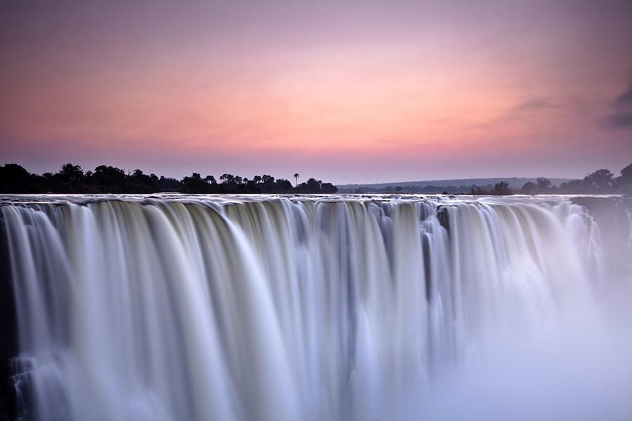 Victoria Falls at Dawn