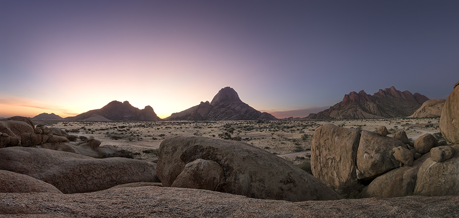 Spitzkoppe At Dawn