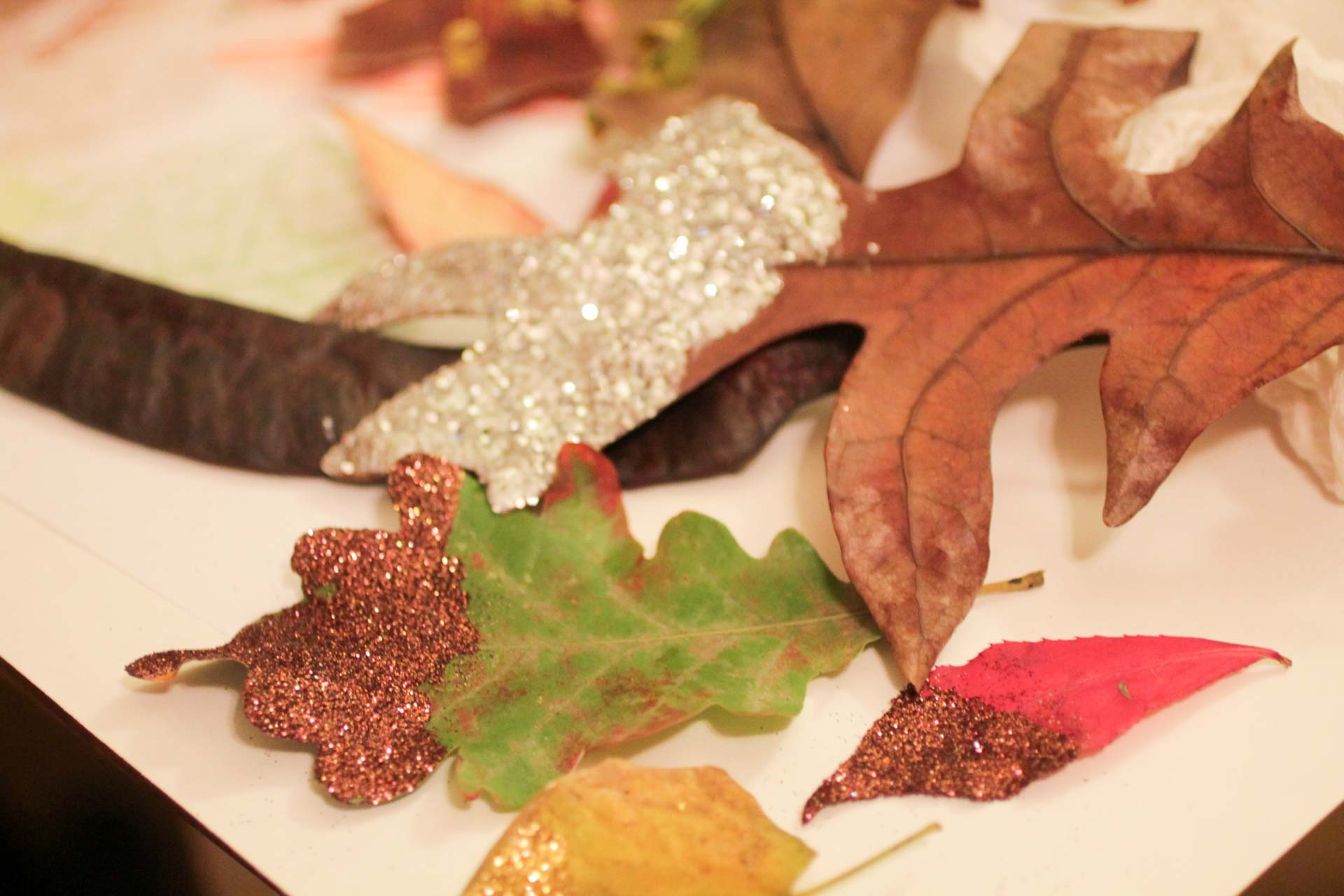 adult-craft-glitter-leaves
