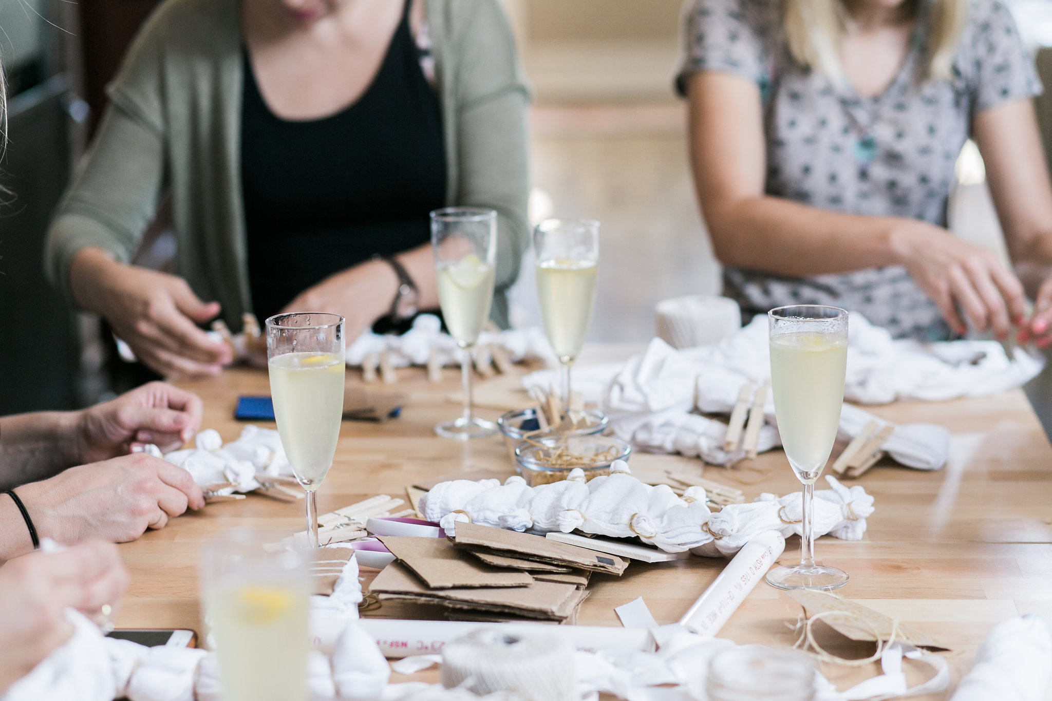 HOST A CRAFT PARTY! - Looking for something unique to add to your next party or event? Check out our craft party offerings or let us design a unique creative experience for your and your guests.